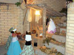 Uno de los premiados en el concurso de decoración navideña de Murchante el año pasado