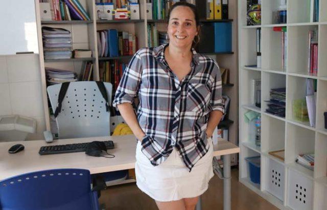 La pedagoga Ana Córdoba AYC