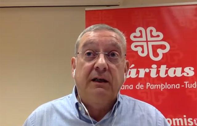 Ángel Iriarte, Director de Cáritas Diocesana de Pamplona-Tudela