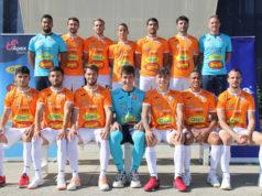 La plantilla del Aspil Jumpers Ribera Navarra FS de esta temporada