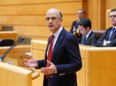 El senador Alberto Catalán
