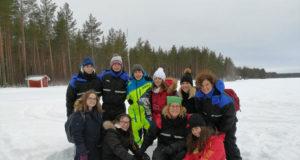 Alumnos del Instituto Valle del Ebro en Suecia