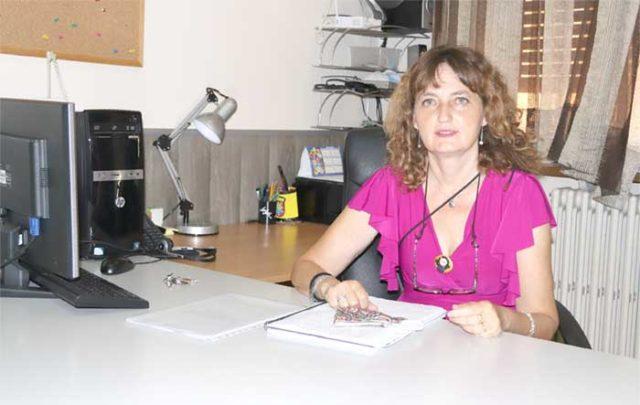 Ana Isabel Navas, directora del CEBA de Tudela