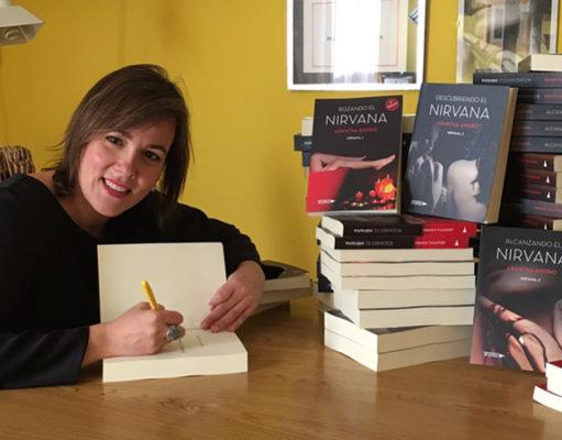 La autora tudelana Arantxa Anoro