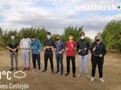 """Alumnos del I.E.S. Benjamín de Tudela participante en el proyecto europeo """"Megaloblaster, catch the fly!"""""""