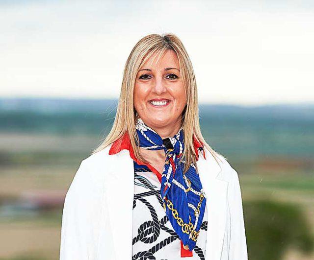 Berta Pejenaute, alcaldesa de Cadreita