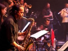 Javier Bruna en una de las actuaciones de Bruna Sonora