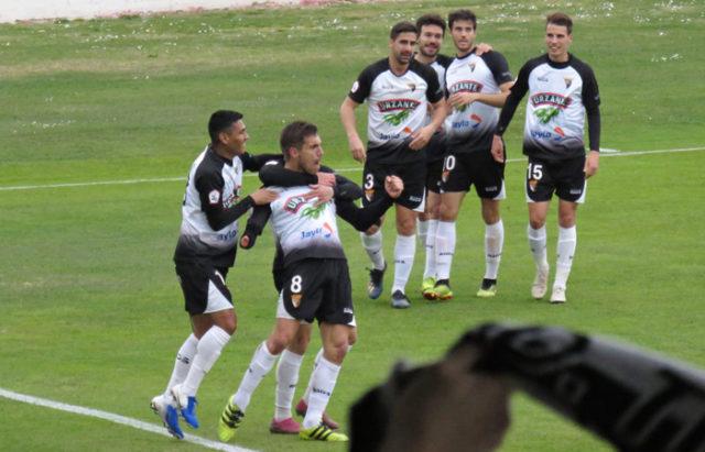 Victoria del CD Tudelano por 3 goles a 1 ante el Unionistas de Salamanca
