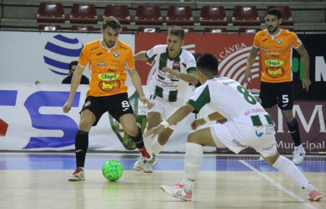 Un momento del partido entre Córdoba Patrimonio de la Humanidad y Aspil-Jumpers RN