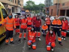 Miembros de Cruz Roja Ablitas