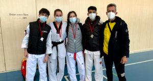 Los campeones de la Escuela de Taekwondo Castejón