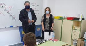 El Ayuntamiento de Milagro ha instalado 21 purificadores en su colegio público
