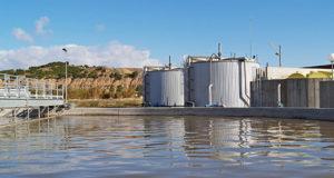 Depuradora de aguas residuales de Tudela (Foto Nilsa)