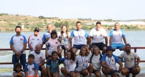 Participantes del Ebrokayak en el Descenso del Cinca