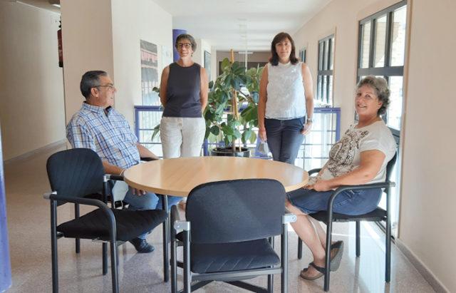 Equipo directivo de la Escuela Oficial de Idiomas de Tudela