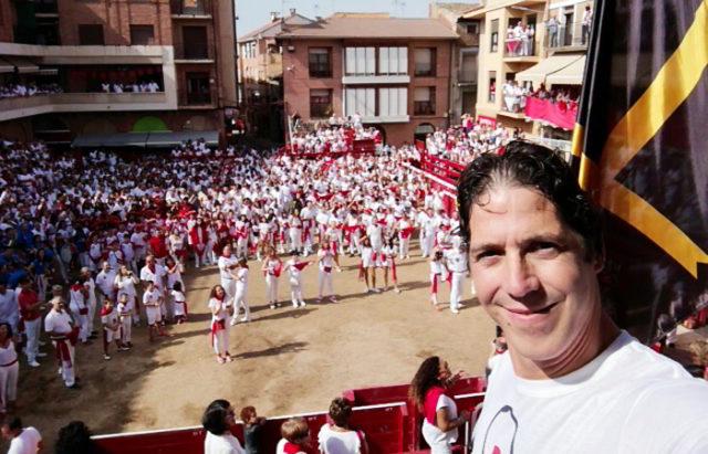 Gabriel Pejenaute, concejal de Festejos de Villafranca