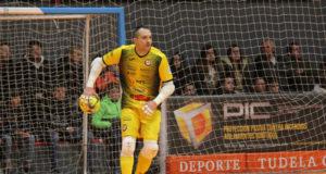 Gus Pérez Segura 'Gus', portero del Aspil Jumpers Ribera Navarra FS