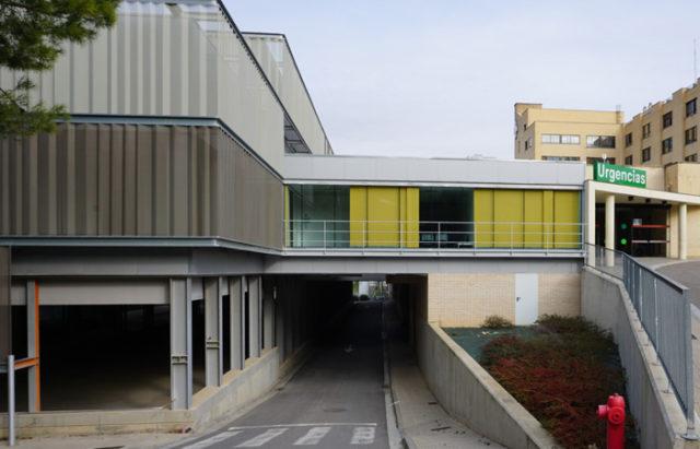Edificio donde se ubicará la nueva unidad de Hemodiálisis