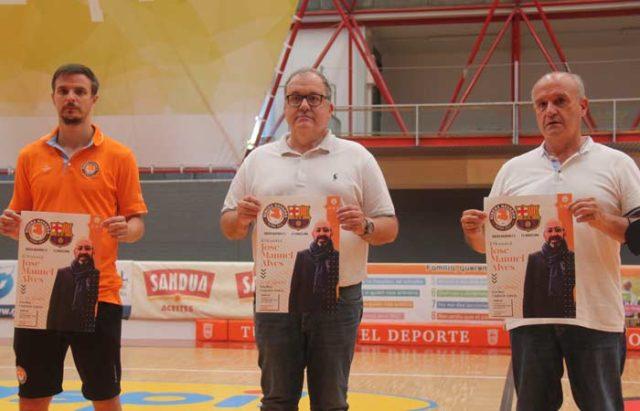 Presentación del II Memorial José Manuel Alves, directivo del Ribera Navarra FS fallecido hace dos años y medio