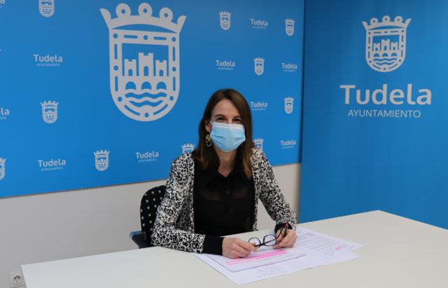 Irene Royo, concejala delegada de Hacienda, Catastro, Patrimonio y Compras del Ayuntamiento de Tudela