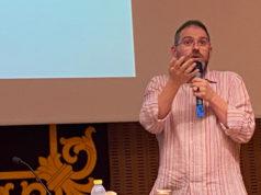 Javier Imaz, historiador y vecepresidente de la Asociación de Amigos del Castillo de Marcilla