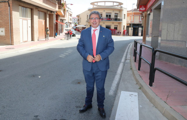 José Ignacio Pardo en una de las calles de Milagro
