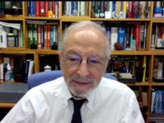 El virólogo Luis Enjuanes, que impartió una conferencia en el último curso