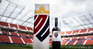 La botella de Malón de Echaide para celebrar el centenario de Osasuna