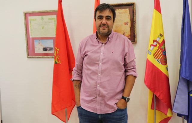 Mario Fabo, alcalde de Marcilla