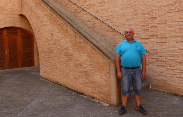 Miguel Goñi, concejal de Festejos de Marcilla