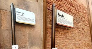 La nueva señalización del patrimonio histórico moderno de Corella