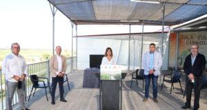 Presentación del proyecto Ribera Sur el pasado agosto