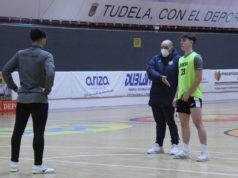 Entrenamiento el Aspil Jumpers Ribera Navarra FS