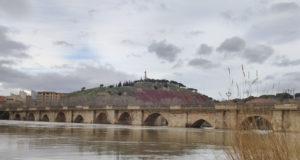 Puente de Tudela sobre el río Ebro