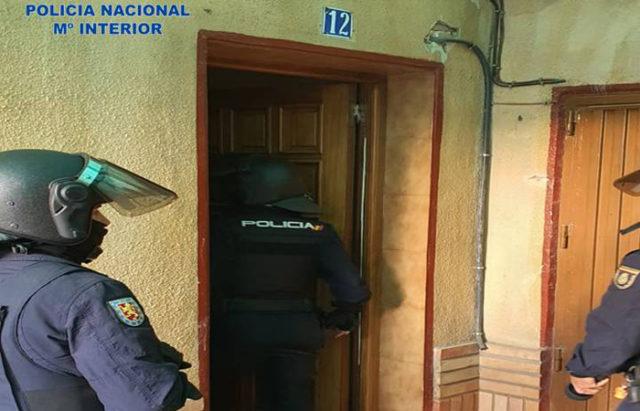 La Policía Nacional ha vuelto a desmantelar otro punto negro de venta de droga en Tudela