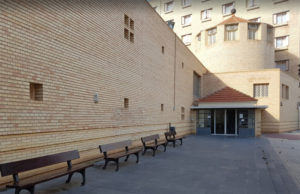 La Real Casa de Misericordia de Tudela, una de las residencias de ancianos de Navarra