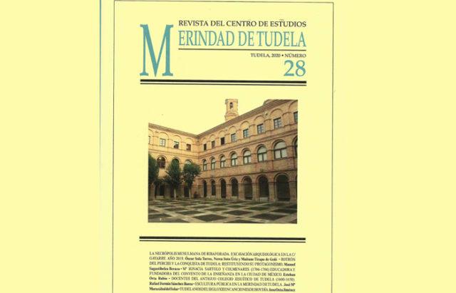 Portada de la revista del Centro de Estudios Merindad de Tudela 2020
