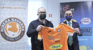 Grupo Apex renueva su patrocinio con el Ribera Navarra FS Aspil Jumpers