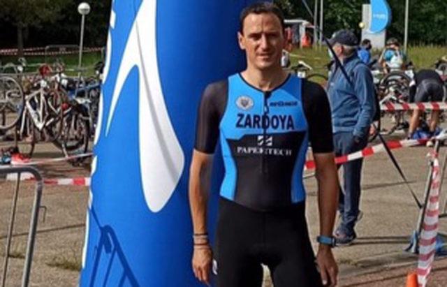 Rodrigo Zardoya, del SDR Arenas Triatlón
