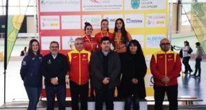 la tudelana Saioa Orgamibide, medalla de plata en la Copa de España de ciclismo