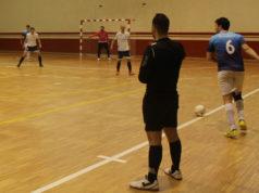 Saque de Banda de un jugador del GCH Garbayo Chivite Cintruénigo FS