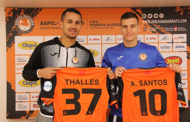Thalles y Andrés Santos