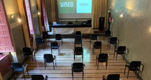 El Salón de Actos de la UNED Tudela, adaptado a la actual situación