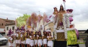 Maleza celestial, premio a la mejor carroza en el carnaval de Villafranca