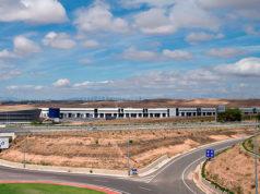 La empresa Inmasc, dedicada a la fabricación de mascarillas, se instalará en el mes de julio en una de las naves de la Ciudad Agroalimentaria de Tudela