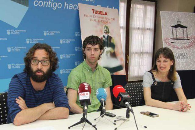 Cartel Fiestas de Tudela