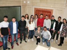 Alumnos de Grado Superior de Marketing y Publicidad del C.I.P ETI han visitado el Ayuntamiento