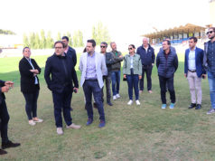 EH Bildu da su opinión sobre el estado del campo de fútbol Ciudad de Tudela y las acciones del alcalde al respecto