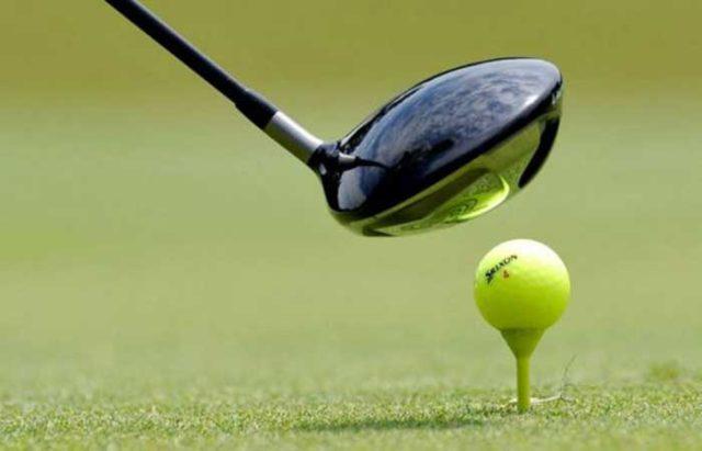 concentración contra el campo de golf en Tudela