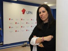 Natalia Castro, portavoz de UPN en el ayuntamiento de Tudela